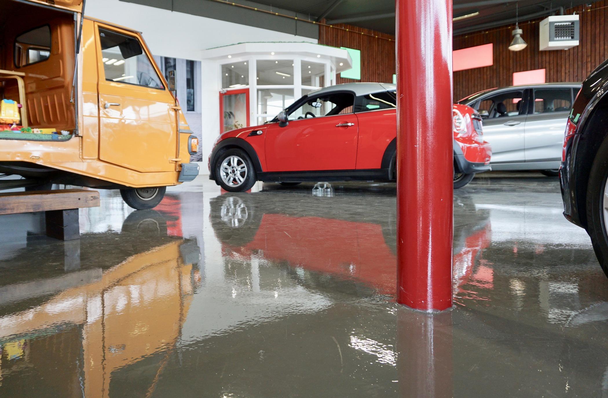 Antislip vloercoating Parkeergarage vloercoating